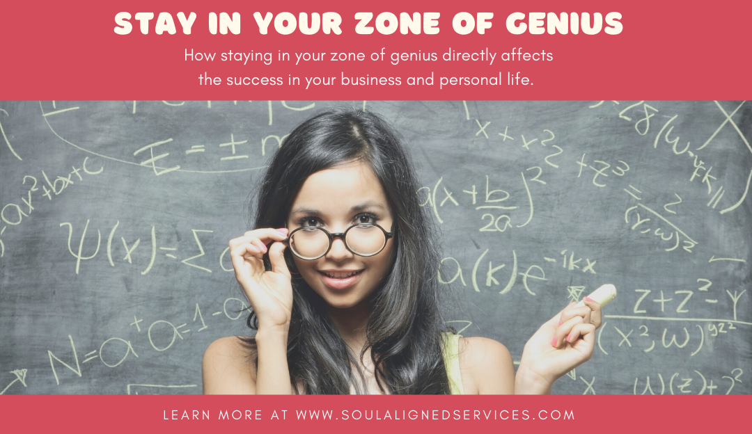 Want to stay in your zone of genius? It's time to delegate.